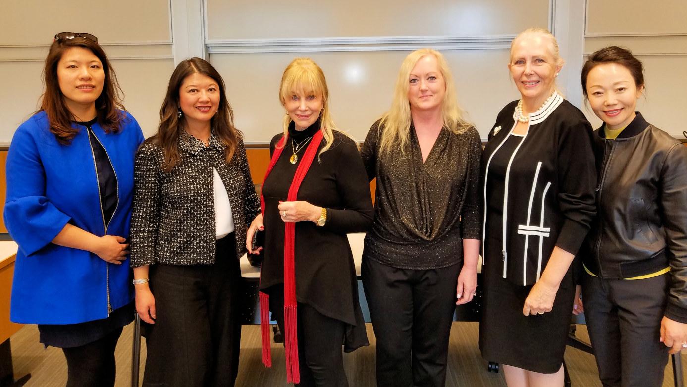 Donna Smith Keynote Speaker at Wharton China Business Society